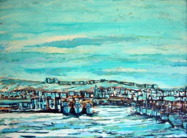 Almería Óleo Lienzo Marina