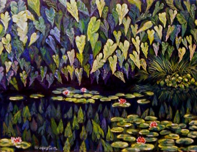 Estanque alfonso araquistain for Pintura para estanques