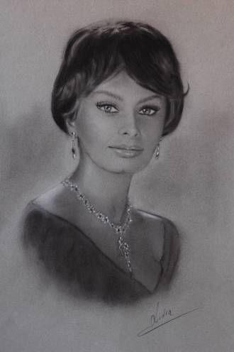 Sofia Loren-dibujo