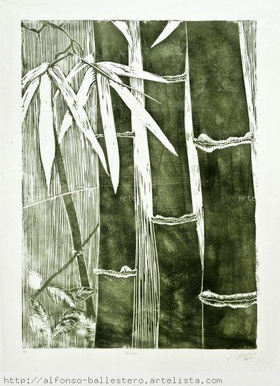 Bambu Linograbado