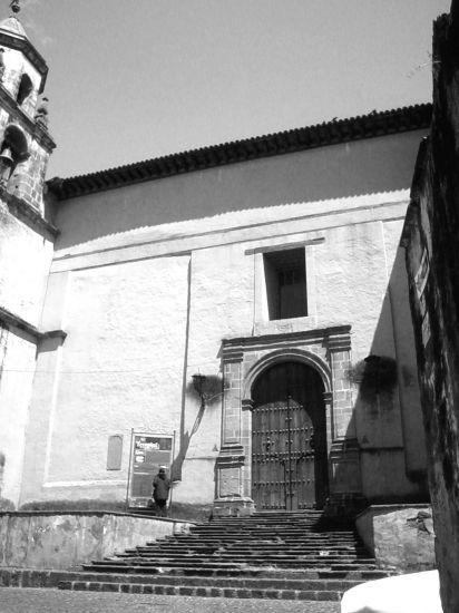 templo de Pátzcuaro Arquitectura e interiorismo Blanco y Negro (Digital)