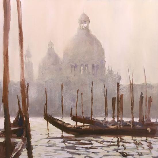 Venecia IV Lienzo Óleo Marina