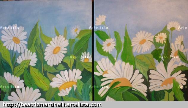 UN DIA DE PRIMAVERA Acrílico Lienzo Floral