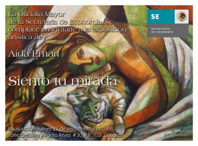 Siento tu Mirada - Aida Emart - artelista.com