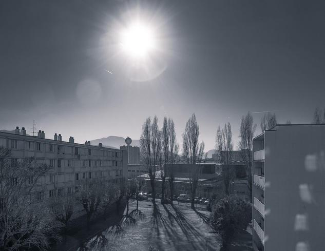 Desde mi ventana - Últimas tomadas en el 2014: FM-14-12.002 Blanco y Negro (Digital) Otras temáticas