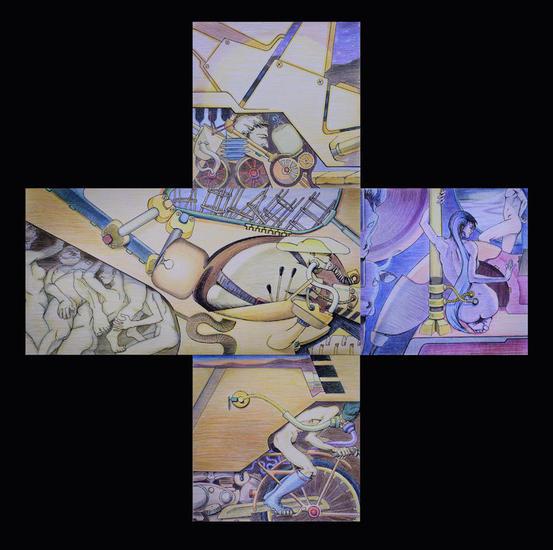 los tres reyes magos Otros Lápiz (a color) Papel