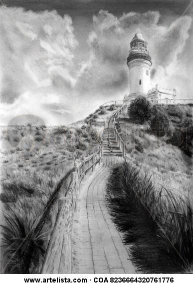 Faro de Byron, Australia Grafito