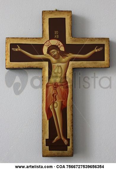 Cross / Croce bizantina Gouache Otros Otros