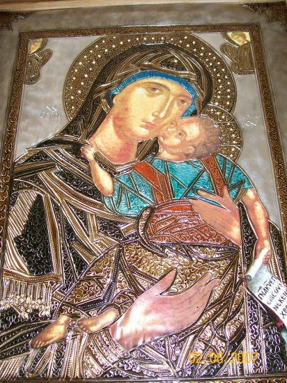 virgen bizantina Óleo Otros Retrato