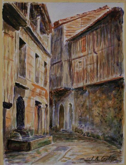 Calle de la alberca salamanca jose antonio del castillo for Imagenes de la alberca salamanca