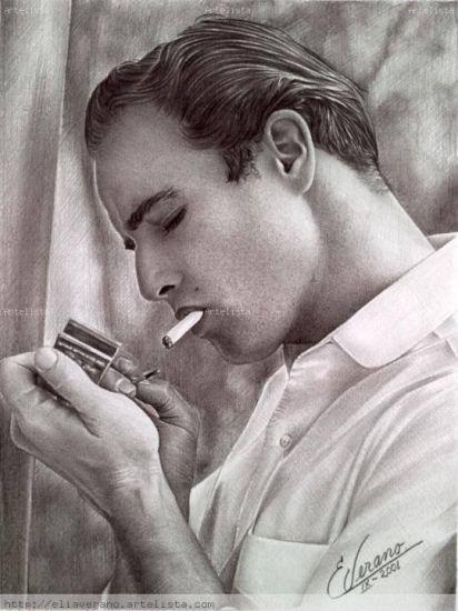 Marlon Brando Grafito