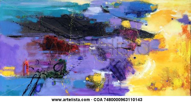 abstract 111 Lienzo Óleo Otros
