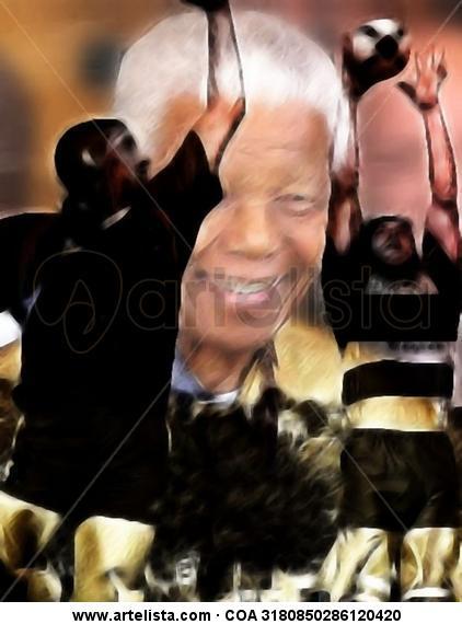 Homenaje A Mandela A Tu Espiritu que Habita en Las Cosas que Amabas Con Pasión