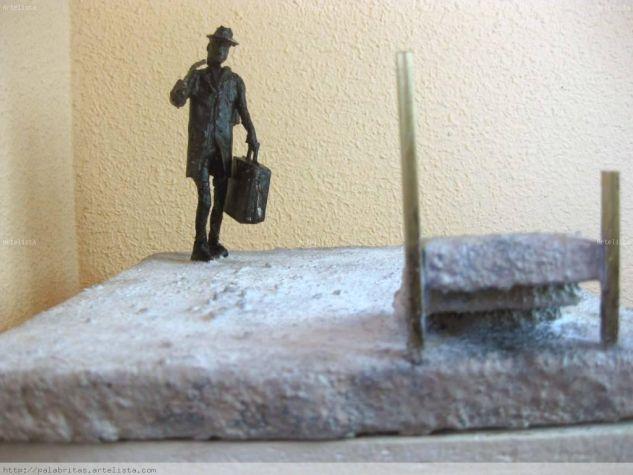 volver 1 Bronce Figurativa