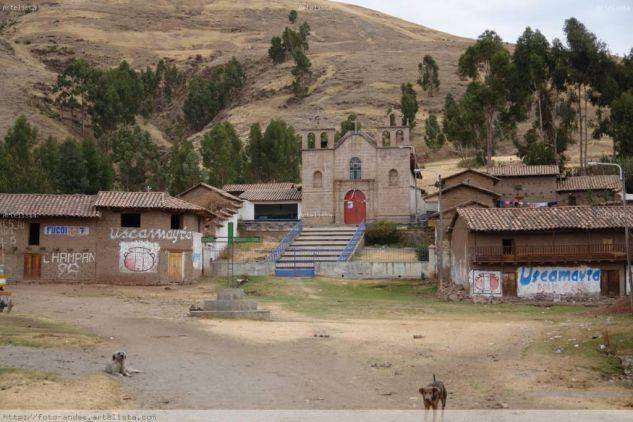 IGLESIA DE LA PAMPA DE ANTA ( Cusco - Peru )