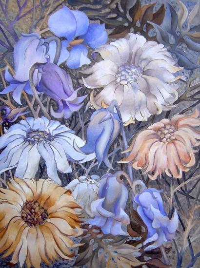 Blumen Lienzo Acrílico Otros