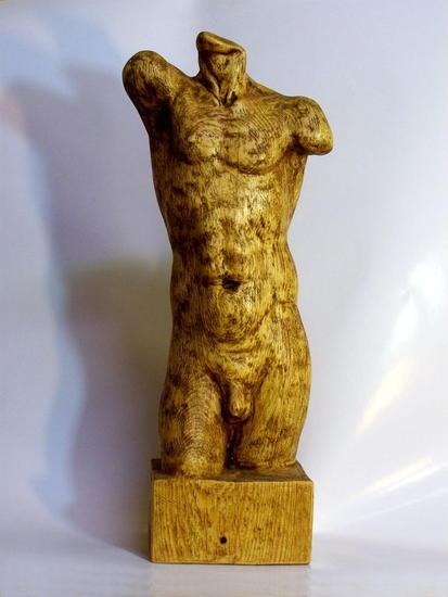Torso Madera Figurativa