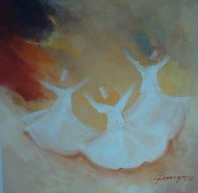 Spiritual Dance 1 Óleo Lienzo