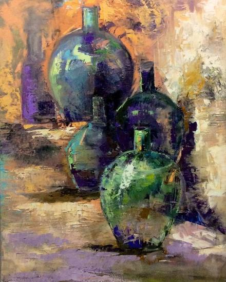 Esperando la visita Still Life Paintings Oil Canvas