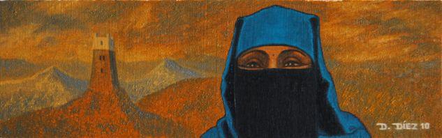 Egipcia Óleo Tabla Otros