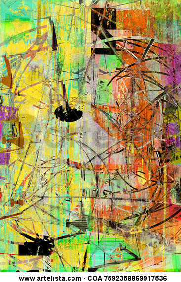 ABSTRACT COLLECTION nº 34512