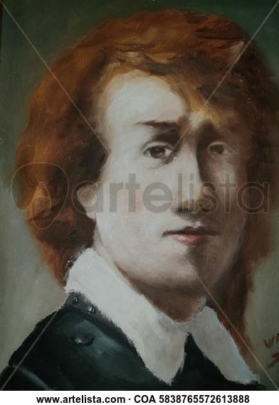 Portrait of a man  Retrato Óleo Lienzo