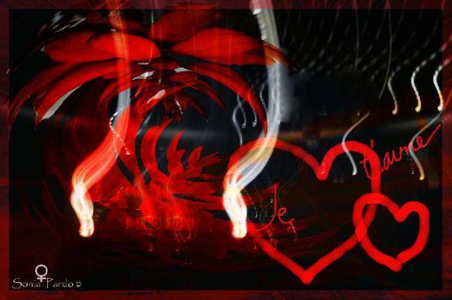Je t'aime... Conceptual/Abstracto Color (Digital)
