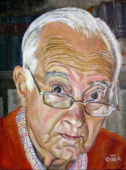 Mi Padre - My Father Paisaje Lienzo Óleo