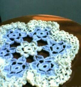 Flores exactas Bordados Textil