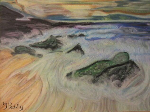 durmiendo entre olas de color