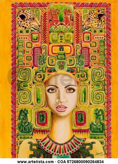 Honduras Maya Carlos Andino - Artelista.com