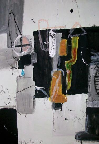 Abstract # 80 paper collection Papel Acrílico Otros