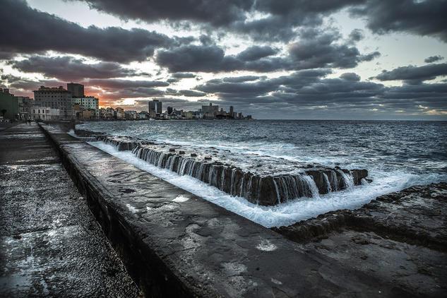 El Malecón Viajes Color (Digital)