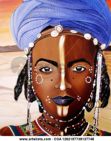 mirada de niger (africa)
