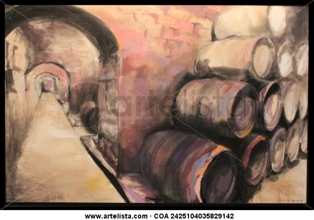 Bodegas de vino Bodegones Lienzo