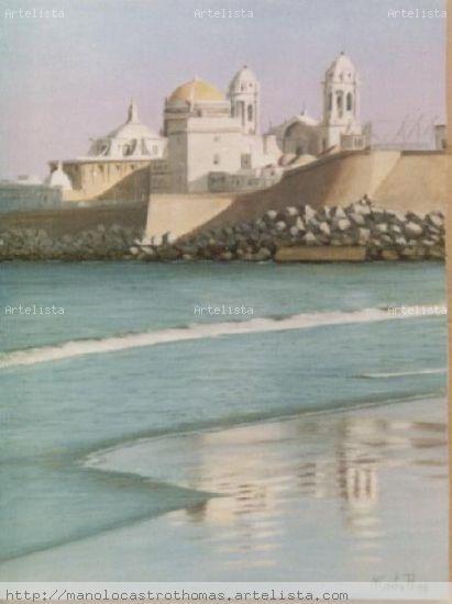 Playa santa maria del mar - catedral