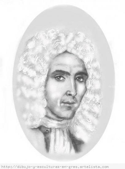 Retrato de don Feliciano Palacios y Sojo Técnica Mixta