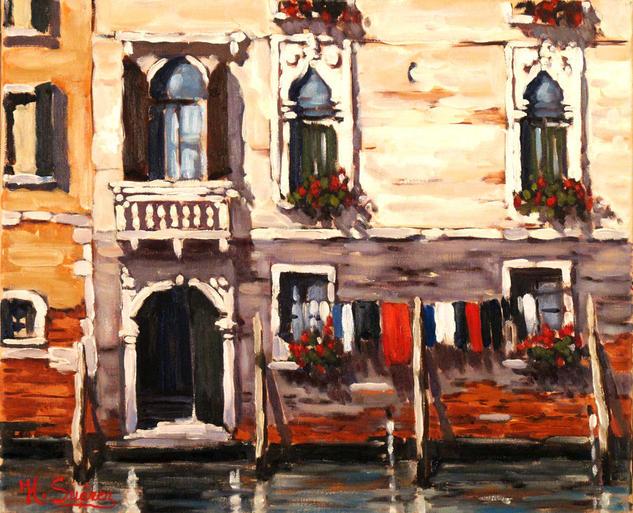 venecia.- fachada