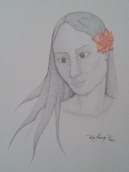 Brisa Primaveral Figura Tinta Papel