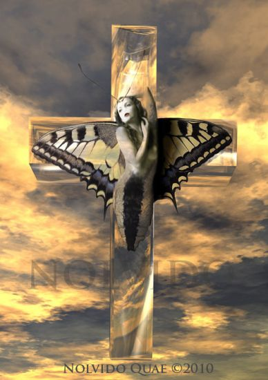 Mujer Mariposa Media Mixta Otros Otros