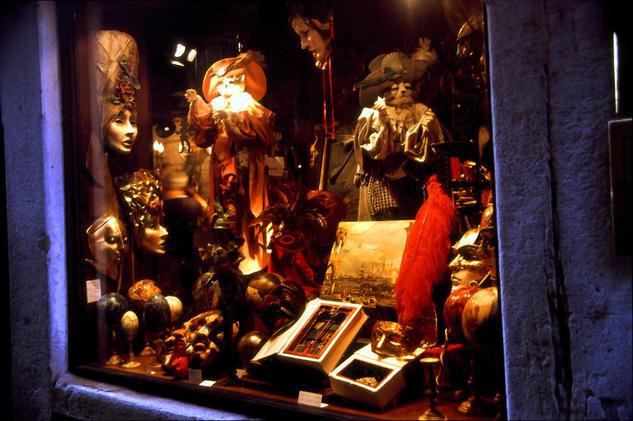 Mascaras Venecianas Color (Química) Viajes