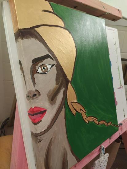 Oil/ acrilic woman painting Otros Otros Otros
