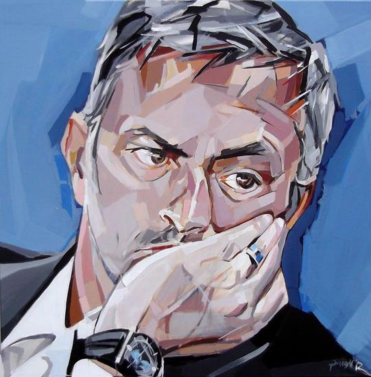 Retrato de José Mourinho