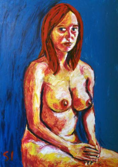retrato de Marta desnuda 1