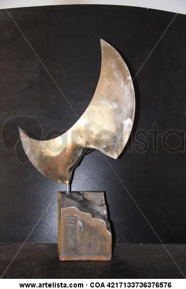 PEQUEÑO PASEO NOCTURNO I Metal Figurative