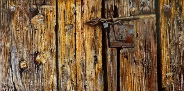 Que bella es la madera Otros Óleo Tabla