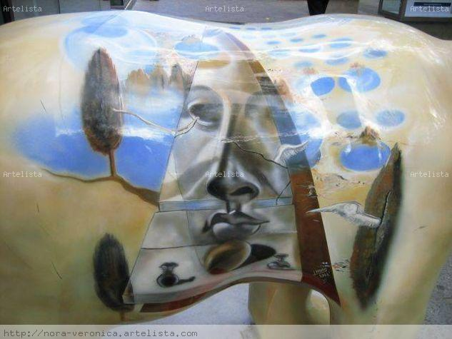 Dalí sobre oso berlinés Color (Digital) Viajes