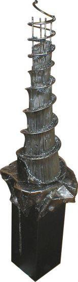 Torre de Babel Figurativa Metal