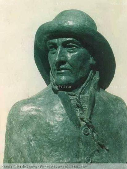 Monumento a Vito Dumas, Ushuaia, Argentina Óleo Lienzo Paisaje