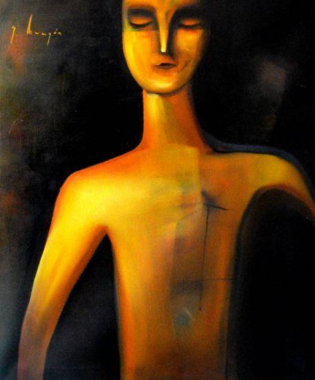 Hombre Óleo Lienzo Retrato